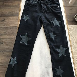 Black Denim Star Jeans KUT from the cloth